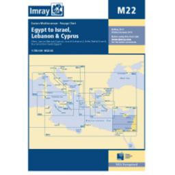 Imray M Series: M22 Egypt to Israel, Lebanon and Cyprus