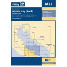 Imray M Series: M32 Adriatic Italy (South)