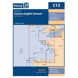 Imray C Series: C12 Eastern English Channel Passage Chart