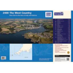 Imray 2000 Series: 2400 West Country Chart Pack