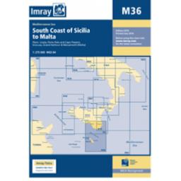 Imray M Series: M36 South Coast of Sicilia to Malta