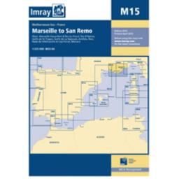 Imray M Series: M15 Marseille to San Remo