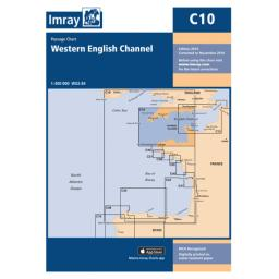 Imray C Series: C10 Western English Channel Passage Chart