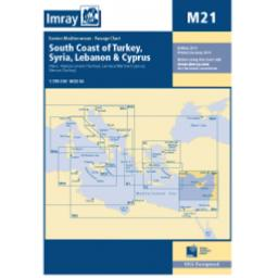 Imray M Series: M21 South Coast of Turkey, Syria, Lebanon and Cyprus