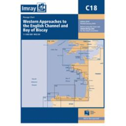 Imray C Series: C18 Western Approaches to the English Channel & Bay of Biscay