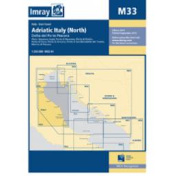 Imray M Series: M33 Adriatic Italy (North)