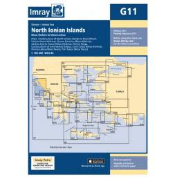 Imray G Series: G11 North Ionian Islands
