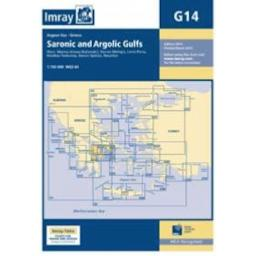 Imray G Series: G14 Saronic and Argolic Gulfs