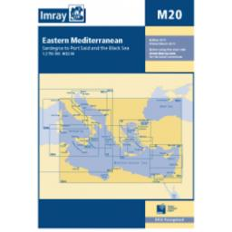 Imray M Series: M20 Sardinia to Cyprus and Port Said
