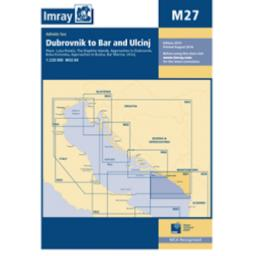 Imray M Series: M27 Dubrovnik to Bar and Ulcinj