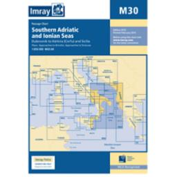 Imray M Series: M30 Southern Adriatic and Ionian Seas