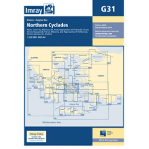 Imray G Series: G31 Northern Cyclades