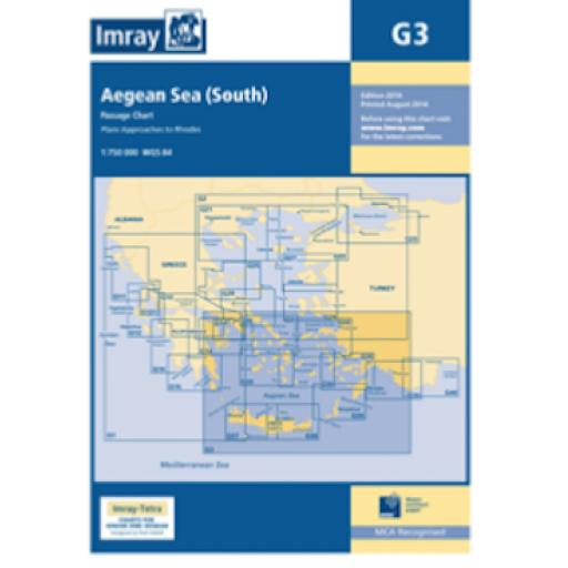 Imray G Series: G3 Aegean Sea (South)