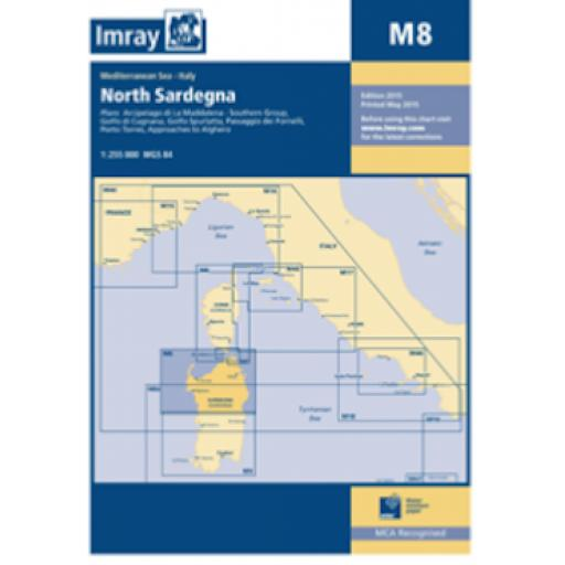 Imray M Series: M8 North Sardegna