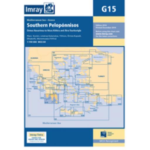 Imray G Series: G15 Southern Pelopónnisos