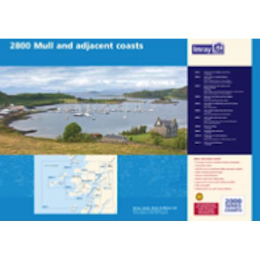 Imray 2000 Series: 2800 Isle of Mull and Adjacent Coasts Chart Pack