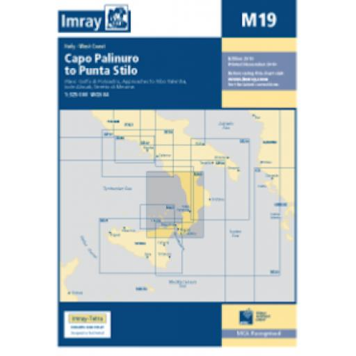 Imray M Series: M19 Capo Palinuro to Punta Stilo