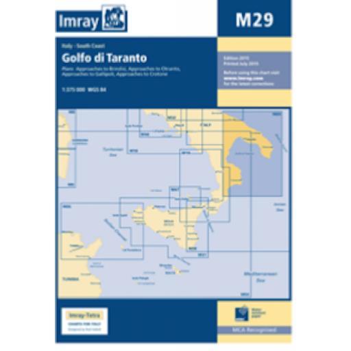 Imray M Series: M29 Golfo di Taranto