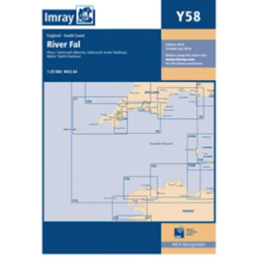 Imray Y Series: Y58 River Fal