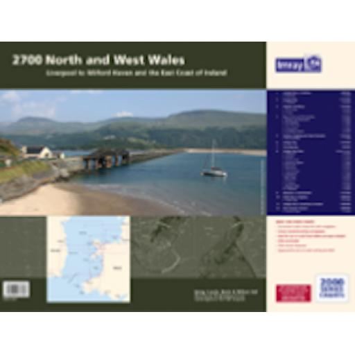 Imray 2000 Series: 2700 North and West Wales Chart Atlas