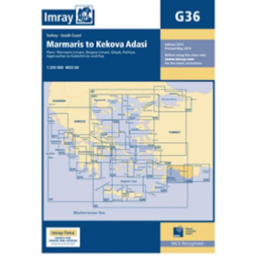 Imray G Series: G36 Marmaris to Kekova Adasi