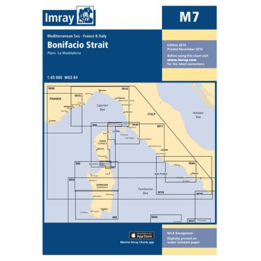 Imray M Series: M7 Bonifacio Strait