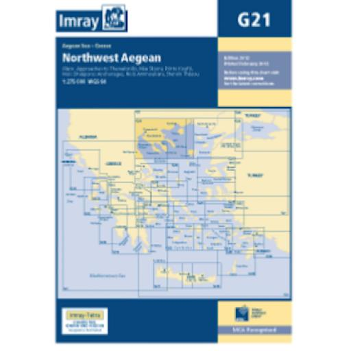 Imray G Series: G21 Northwest Aegean Sea
