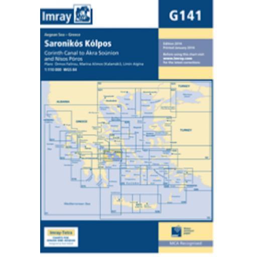 Imray G Series: G141 Saronikós Kólpos