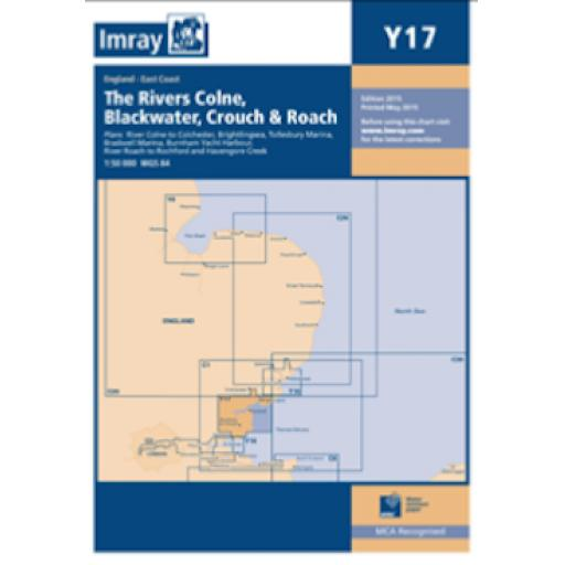 Imray Y Series: Y17 The Rivers Colne, Blackwater, Crouch and Roach