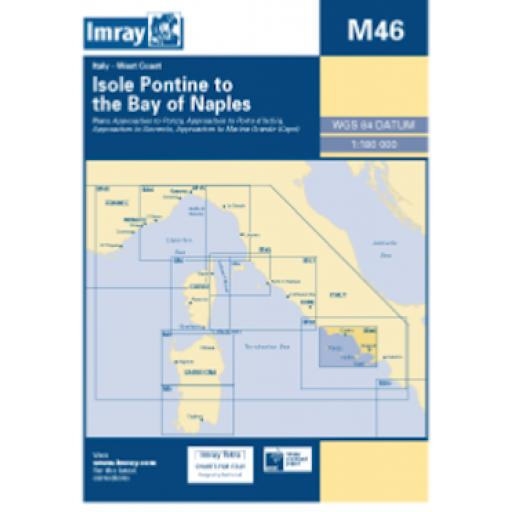 Imray M Series: M46 Isole Pontine to the Bay of Naples