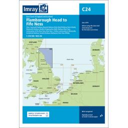 Imray C Series: C24 Flamborough Head to Fife Ness