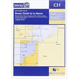 Imray C Series: C31 Dover Strait to Le Havre