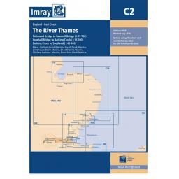 Imray C Series: C2 The River Thames