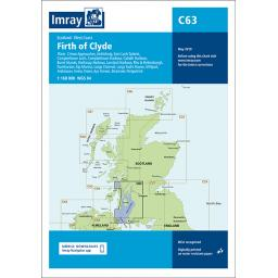 Imray C Series: C63 Firth of Clyde