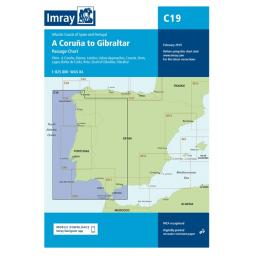 Imray C Series: C19 Cabo Finisterre to Gibraltar