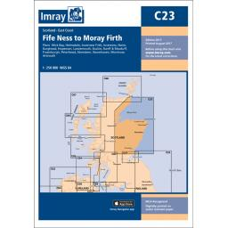 Imray C Series: C23 Fife Ness to Moray Firth