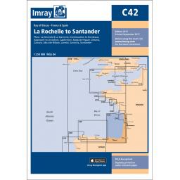 Imray C Series: C42 La Rochelle to Santander