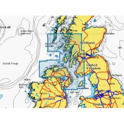 Navionics+ Small - Ireland North, Scotland West