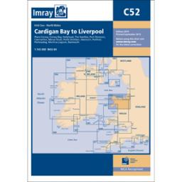 Imray C Series: C52 Cardigan Bay to Liverpool