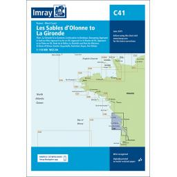 Imray C Series: C41 Les Sables d'Olonne to La Gironde