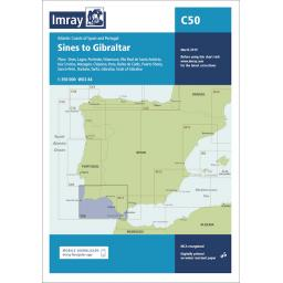 Imray C Series: C50 Sines to Gibraltar