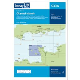 Imray C Series: C33A Channel Islands (North)