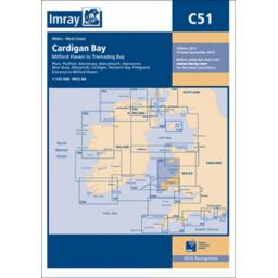 Imray C Series: C51 Cardigan Bay