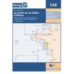 Imray C Series: C40 Le Croisic to Les Sables d'Olonne