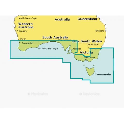 Navionics Platinum+ XL3 61P+ AUSTRALIA SOUTH*