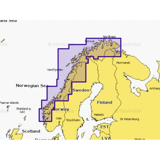 Navionics Platinum+ XL3 11P+ Norway North - West