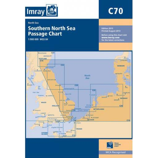 Imray C Series: C70 Southern North Sea Passage Chart