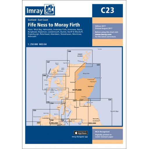 Imray C Series: C23 Fife Ness to Moray Firth