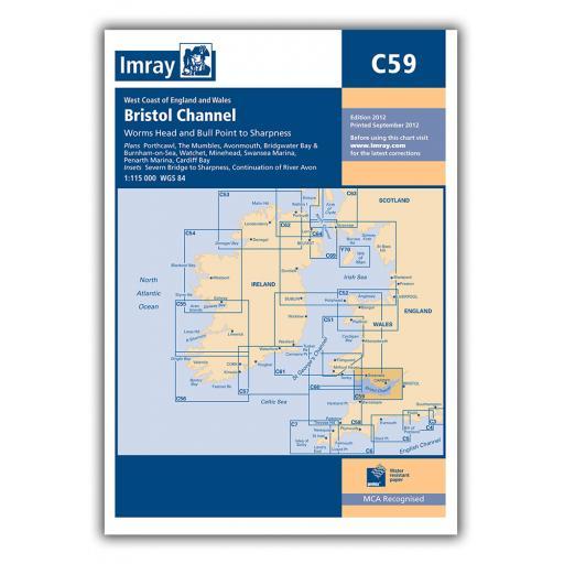 Imray C Series: C59 Bristol Channel