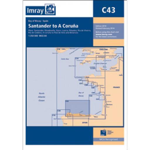 Imray C Series: C43 Santander to A Coruña
